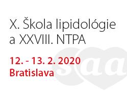 podujatie-X. Škola lipidológie a XXVIII. NTPA 2020